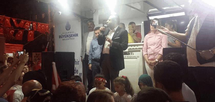 Egemen Bağış Demokrasi Nöbetleri - Ataşehir Albüm